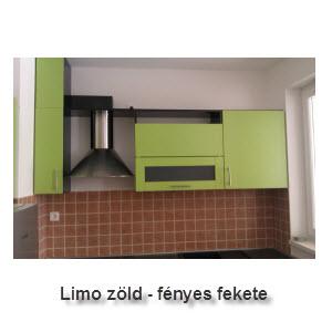 Limo zöld _ Fényes fekete