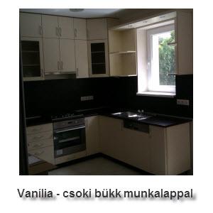 Vanília - csoki bükk