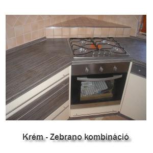 Zebrano - Krém