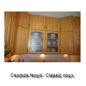 Csomós fenyő - Classic onyx