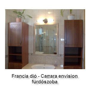 Franciadió - Carrara envision fürdőszoba