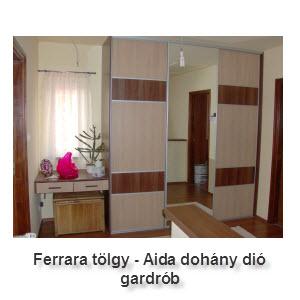 Aidadió - Ferrara tölgy